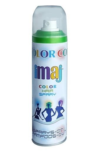 İmaj Color Saç Spray Yeşil 100Ml Yeşil